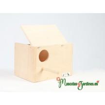 NIDO AGAPORNI HORIZONTAL (A1) (rosseicollis)