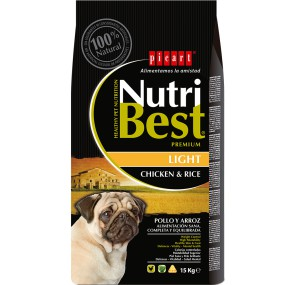 NUTRIBEST - PREMIUM NutriBest Light 15KG