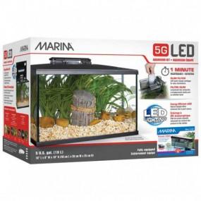 Kit Acuario Marina 5G LED 20 Litros