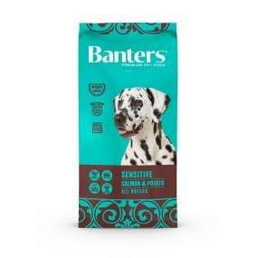 banters sensitive salmon & potato 15KG